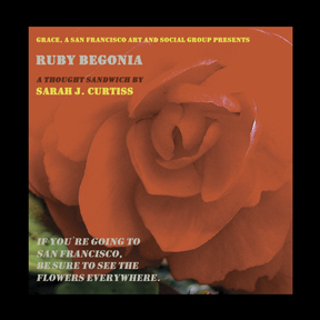 Ruby Begonia Flower Book Cover