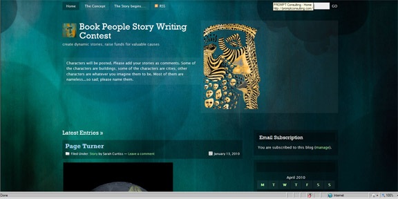 Book People Story Writing Contest Blog