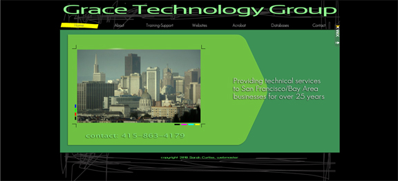 Grace Tech Group website